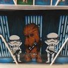 Disney WonderGround Star Wars What A Wookie Chewbacca Postcard Chris Uminga New