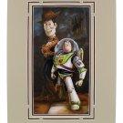 Disney Parks Toy Story Sheriff Woody & Buzz Lightyear Print by Darren Wilson