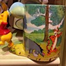 DISNEY PARKS WINNIE THE POOH HANDLE BAR CERAMIC MUG NEW