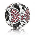 Disney Parks Pandora Minnie Mouse Bow Silver Charm NEW WITH BOX