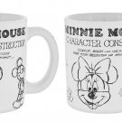 Disney Parks Mickey And Minnie Mouse Sketch Stoneware Mug Gift Set New