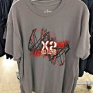 Six Flags Magic Mountain X2 **The Ride Men's T-Shirt SIZE: S,M,L XL,XXL New