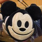 Disney Parks Exclusive Disney Double Sided Emoji Face Plush Mickey Mouse New