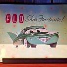 Disney Parks DCA Exclusive Cars Flo's Place Mat Fin-Tastic New