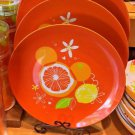 Disney Parks Exclusive Mickey Mouse Icon Citrus Serving Tray Plate New Set of 2