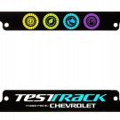 Disney Parks Test Track by Chevrolet Plastic License Plate New