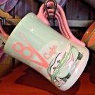 Disney Parks DCA Exclusive Cars Flos V8 Cafe Ceramic Mug Cup New