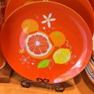 Disney Parks Exclusive Mickey Mouse Icon Citrus Serving Tray Plate New