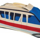 Disney Parks Monorail Toiletry Bag Cosmetic Dopp Kit Travel Pouch Disney TAG New