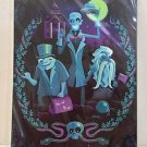 Disney WonderGround Haunted Mansion Hitchhiking Ghost Postcard by Jeff Granito