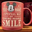 Disney Parks Mickey Mouse You Have a Special Day of Making People Smile Mug New