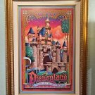 Disneyland Castle Sleeping Beauty Castle LE Giclee on Canvas Jeff Granito New