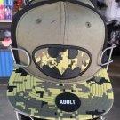 Six Flags Magic Mountain Dc Comics Camouflage Batman Snapback Hat Cap New