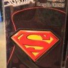 Six Flags Magic Mountain DC Comics Changeable Patch Superman Shield New