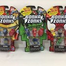 Bonka Zonks Series 1 Pack of 3 Lot #2 New and Sealed
