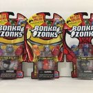 Bonka Zonks Series 1 Pack of 3 Lot #4 New and Sealed