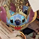 Disney Parks Stitch Face Keyring Metal Keychain New