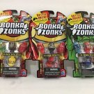 Bonka Zonks Series 1 Pack of 3 Lot #1 New and Sealed