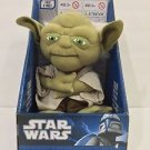 STAR WARS MASTER YODA TALKING CHARACTER PLUSH PERSONAL COLLECTION