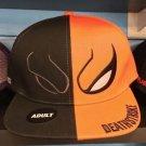 Six Flags Magic Mountain Dc Comics Death Stroke Baseball Snapback Hat Cap New