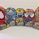 Bonka Zonks Series 1 Spider-Man Headquarters Capt. America Wolverine Spider-Man