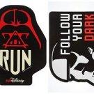 Disney Parks Run Disney Marathon Star Wars Darth Vader Storm Trooper Magnet Set