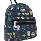 DISNEY PARKS EXCLUSIVE MINI CUTIES STAR WARS BACKPACK BY LOUNGEFLY NEW WITH TAGS