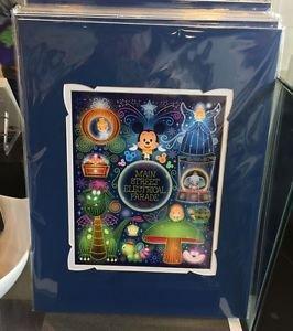 Disney WonderGround Mickey Main Street Electrical Parade Deluxe Print New Sealed
