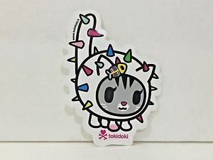 TOKIDOKI 100% Authentic Carina Cat Sticker New
