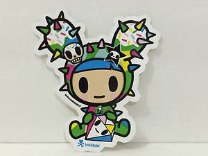 TOKIDOKI 100% Authentic Dusty Color with Dinamate Sticker New