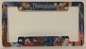 Disneyland Resort 2016 Plastic License Plate Frame Magic Magic Memories Set of 2