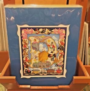 Disney Parks The Great Dumbo Deluxe Print by Kenny Yamada New