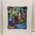 Disney Parks Once Upon A Time Heroes Deluxe Print Signed by Dave Avanzino New