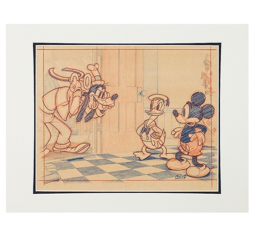 Disney Parks Exclusive Moving Day 1936 #6 Deluxe Print by Costa Alavezos New
