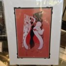 Disney WonderGround Gallery Cruella De Vil Print by J. Scott Campbell New