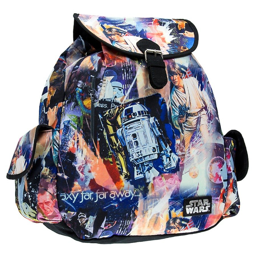 DISNEY PARKS EXCLUSIVE STAR WARS COLLAGE BACKPACK BY LOUNGEFLY NEW WITH TAGS
