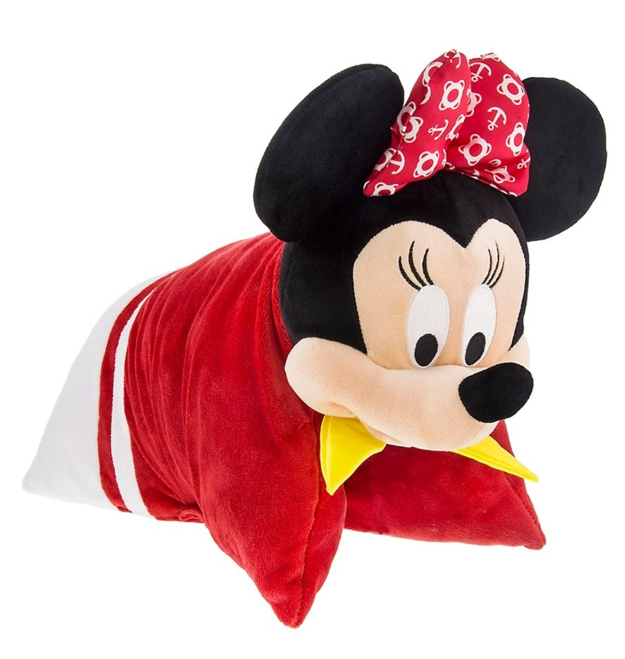 Disney Cruise Line Exclusive Minnie Mouse Pillow Plush New with Tags