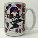 TOKIDOKI Authentic SDCC Simone Legno Major League Baseball Ceramic Mug New
