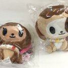 TOKIDOKI DONUTINA AND DONUTINO PLUSH SET NEW AND SEALED
