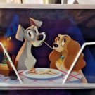 Disney WonderGround Gallery Lady and The Tramp Postcard by Bill Robinson New