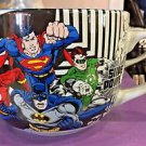 Six Flags Magic Mountain DC Comics Justice League Wonder Woman Big Ceramic Mug