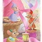 Disney WonderGround A Dress For Cinderelly Cinderella Postcard by Sydney Hanson