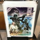 Disney WonderGround Star Wars Imperial Might of Scarif Postcard by Joe Corroney
