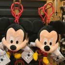 DISNEY PARKS BABY CUTIES MICKEY MOUSE PLUSH KEYCHAIN NEW WITH TAGS