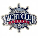 Disney's Yacht Club Resort Metal Magnet New