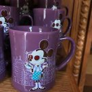DISNEY PARKS HIPSTER MINNIE CERAMIC PURPLE MUG NEW