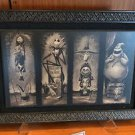 Disney Parks Haunted Mansion Nightmare Before Christmas Framed Print New