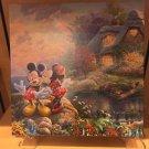Disney Parks Mickey Minnie Mouse Canvas Wrap Print by Thomas Kinkade Studios New