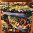 Disney Parks Alice In Wonderland Canvas Wrap Print by Thomas Kinkade Studios New