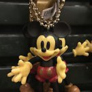 DISNEY PARKS POSABLE CLASSIC MICKEY MOUSE DANGLING KEYCHAIN NEW WITH TAGS